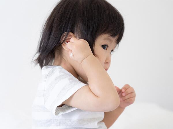 【画像】小児の中耳炎